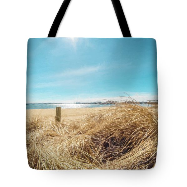 Provincetown Harbor Tote Bag