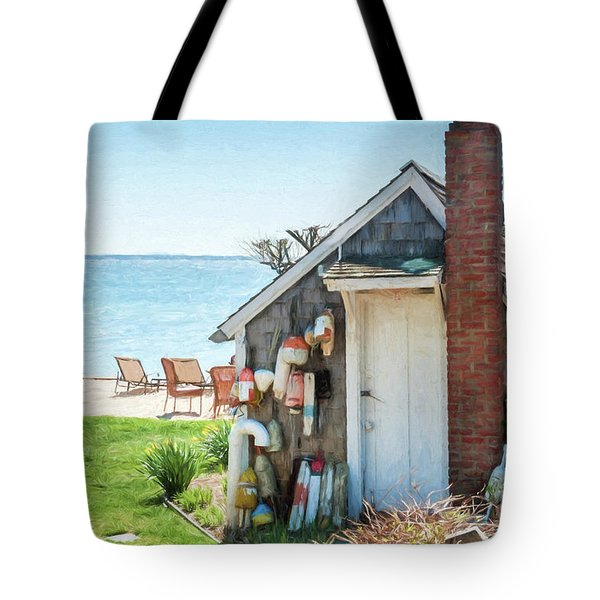 Provincetown Shed Tote Bag
