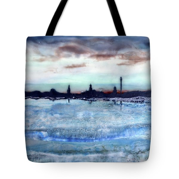 Provincetown Skyline 1 Tote Bag