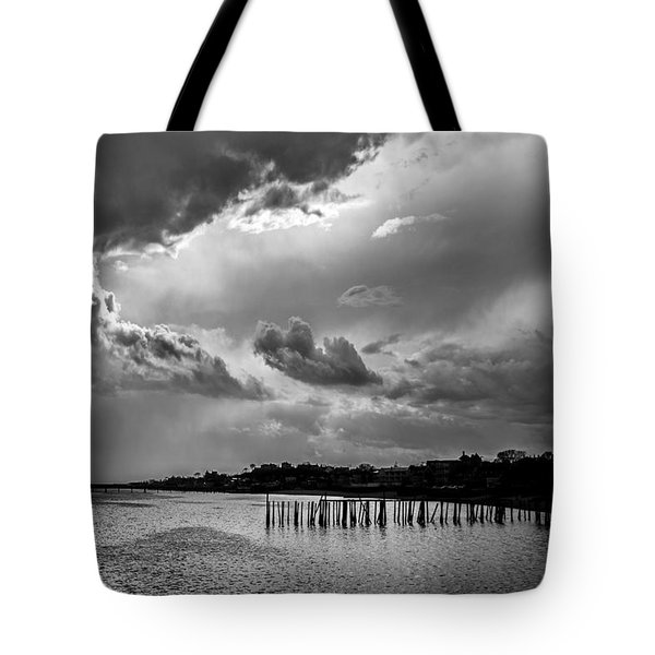 Tote Bag featuring the photograph Provincetown Storm by Charles Harden
