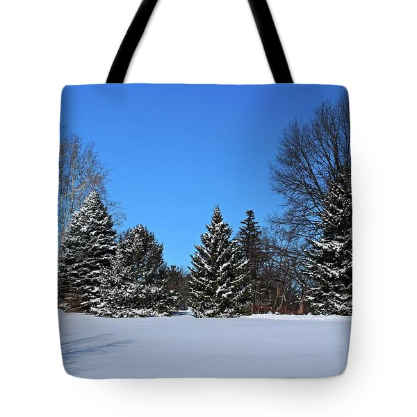 Provincial Pines Tote Bag