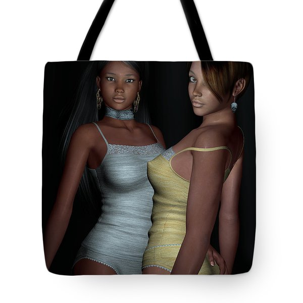 Provocative Flirt Tote Bag by Alexander Butler