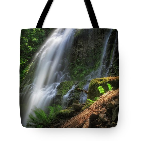 Tote Bag featuring the photograph Proxy Falls by Cat Connor