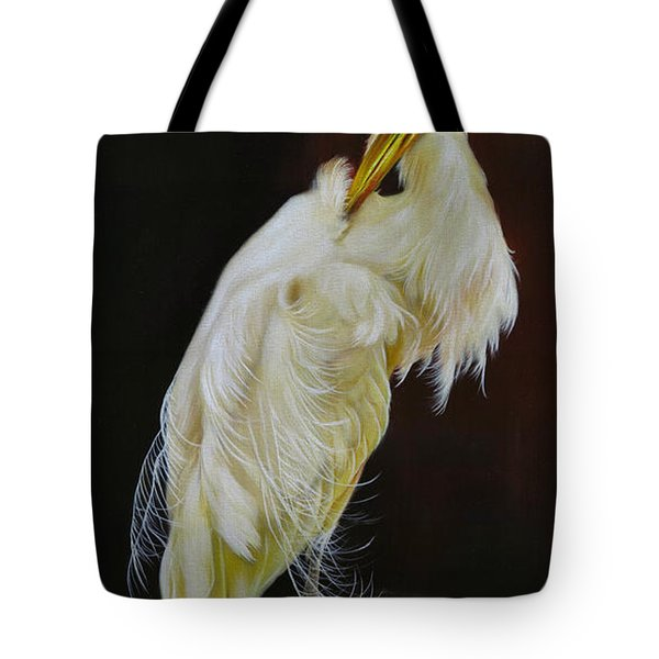Tote Bag featuring the painting Prudence by Phyllis Beiser