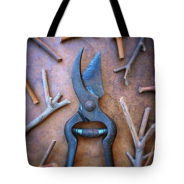 Pruning Scissors Tote Bag
