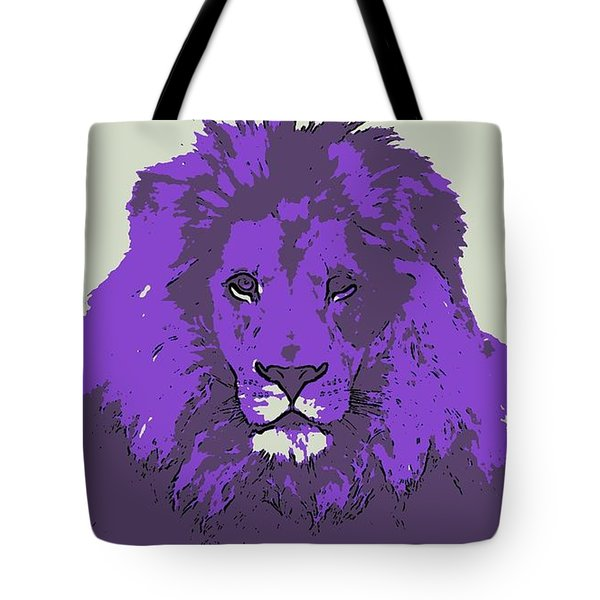 Pruple King Tote Bag