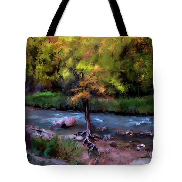 Psalm 1 Tote Bag by Annette Berglund