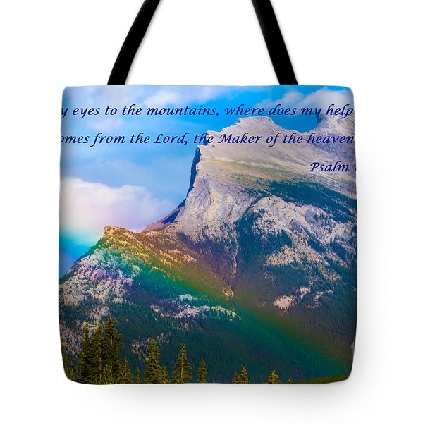 Psalm 121   1-2 Tote Bag