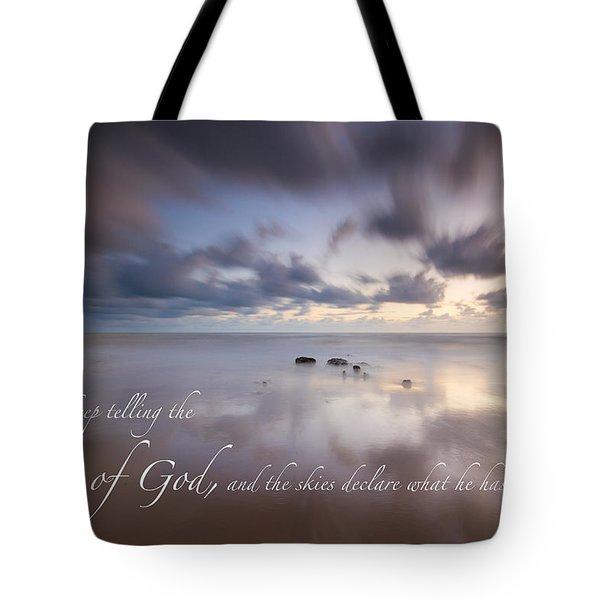 Psalm 19 1 Tote Bag