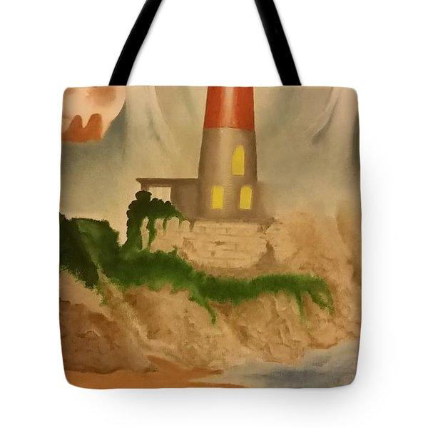 Psalm 27 Tote Bag