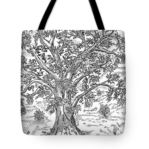 Psalm One Tote Bag by Glenn McCarthy Art and Photography