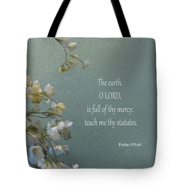 Psalms 03 Tote Bag