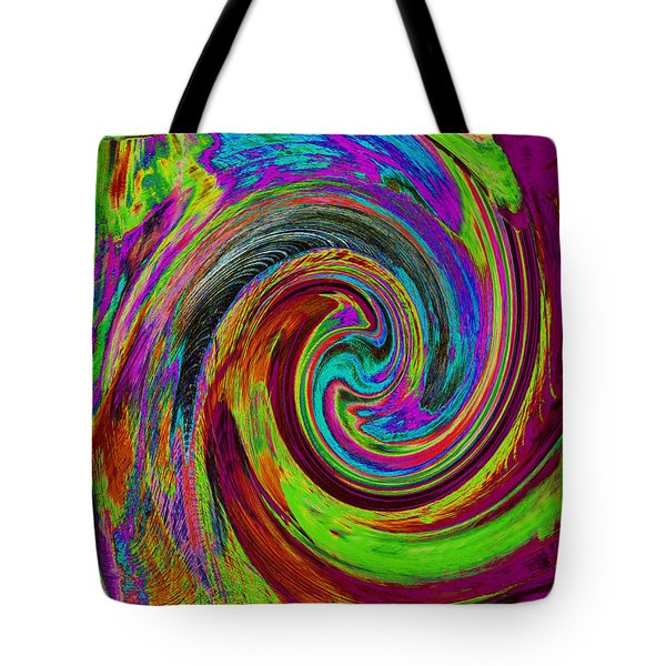 Pscholdelic Surfs Up Tote Bag by Wayne Potrafka