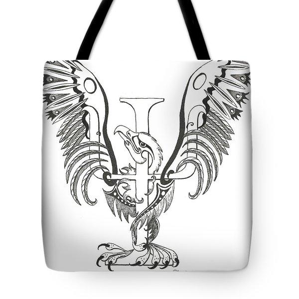 Psi Eagle Tote Bag