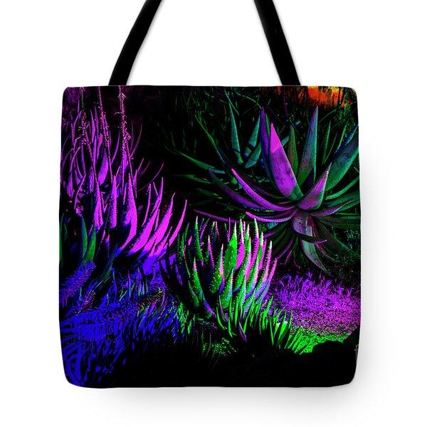 Psychedelia Tote Bag by Kathy McClure