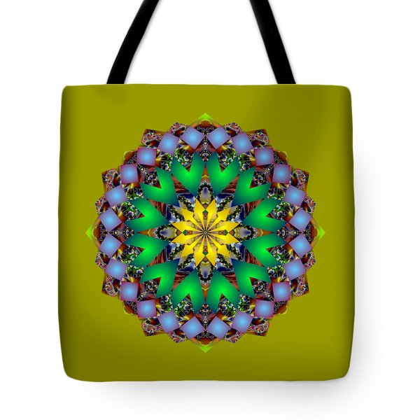 Psychedelic Mandala 003 A Tote Bag
