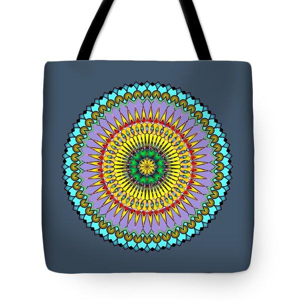 Psychedelic Mandala 005 A Tote Bag