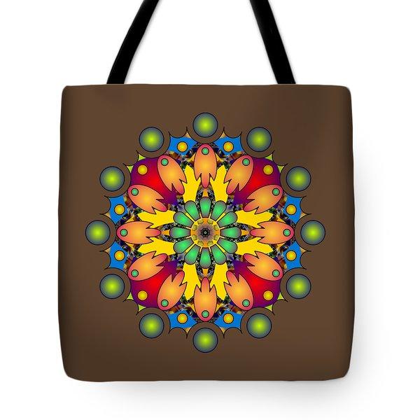 Psychedelic Mandala 009 A Tote Bag