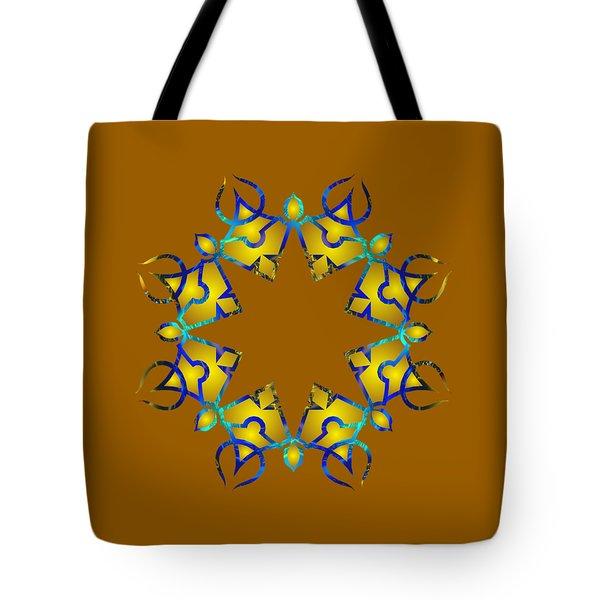 Psychedelic Mandala 011 A Tote Bag