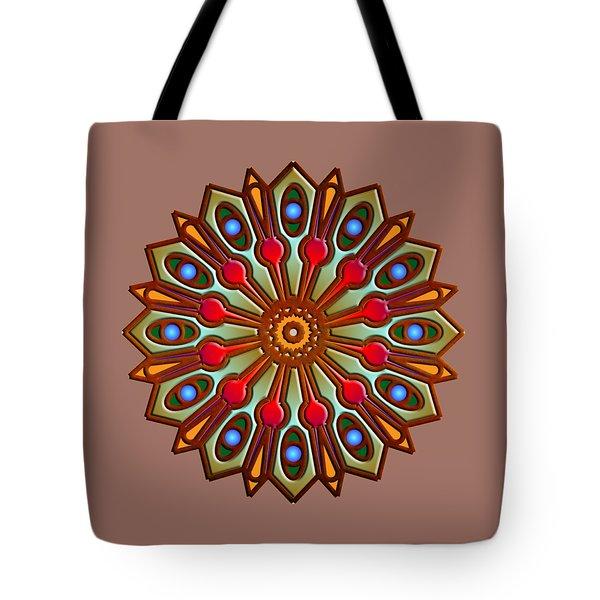 Psychedelic Mandala 012 A Tote Bag