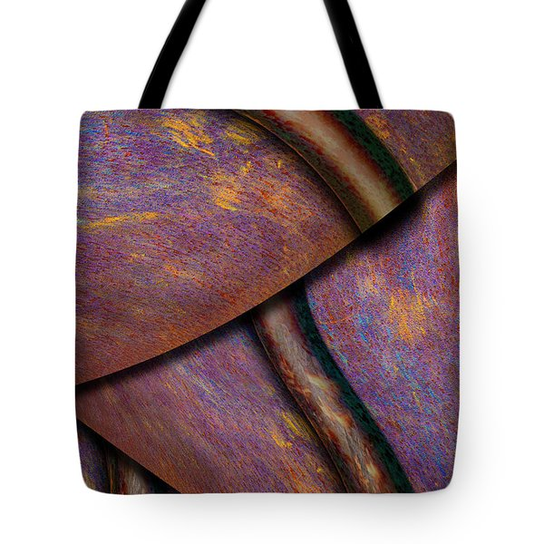 Tote Bag featuring the photograph Psychedelic Pi by Paul Wear