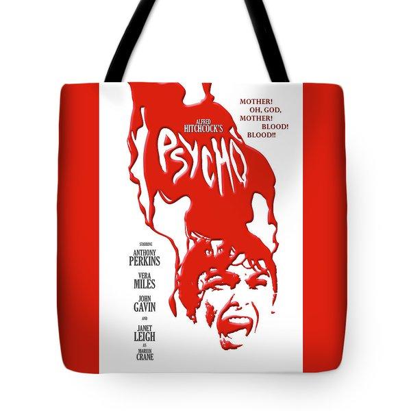 Psycho Tote Bag by Ron Regalado