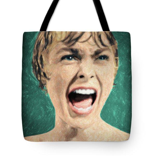 Psycho Shower Scene Tote Bag
