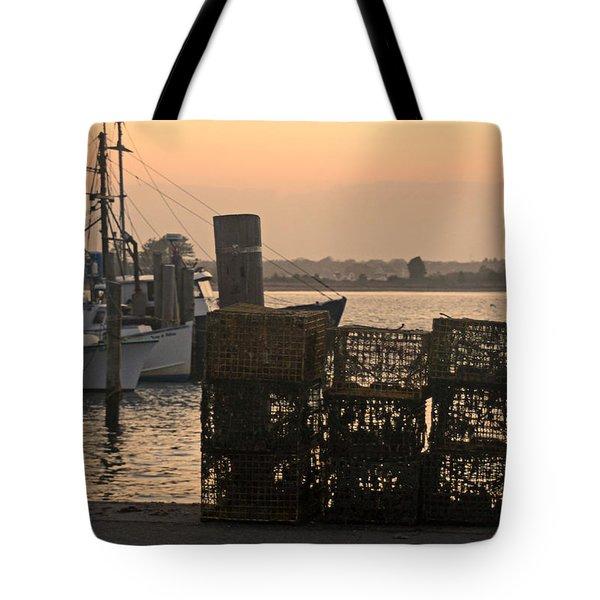 Pt Judith Dock Tote Bag