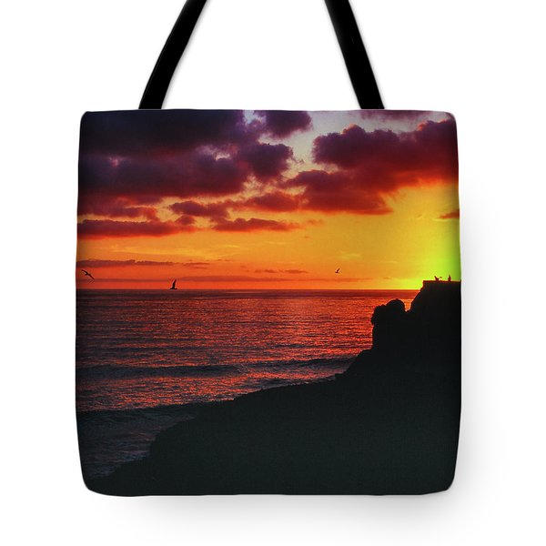 Tote Bag featuring the photograph Pt Mugu Sunset by Samuel M Purvis III