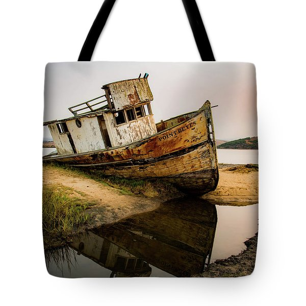 Pt. Reyes Shipwreck 1 Tote Bag