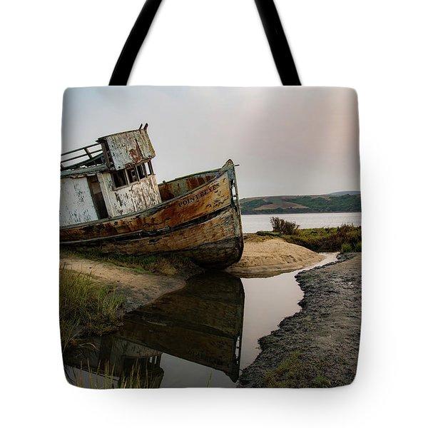 Pt. Reyes Shipwreck 4 Tote Bag
