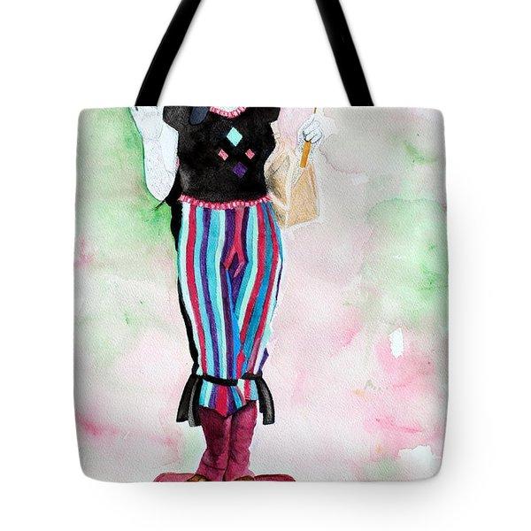 Pt Street Fair Watercolor Tote Bag