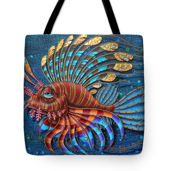 Pterois Tote Bag