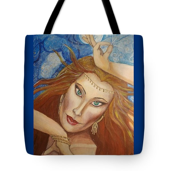 Ptraci Dancing On The Disc Tote Bag