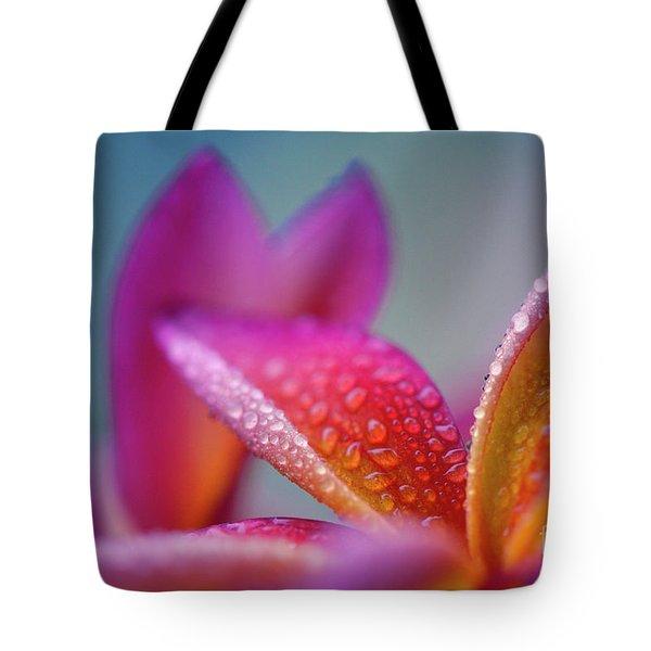 Tote Bag featuring the photograph Pua Melia Ke Aloha Hawaii  by Sharon Mau