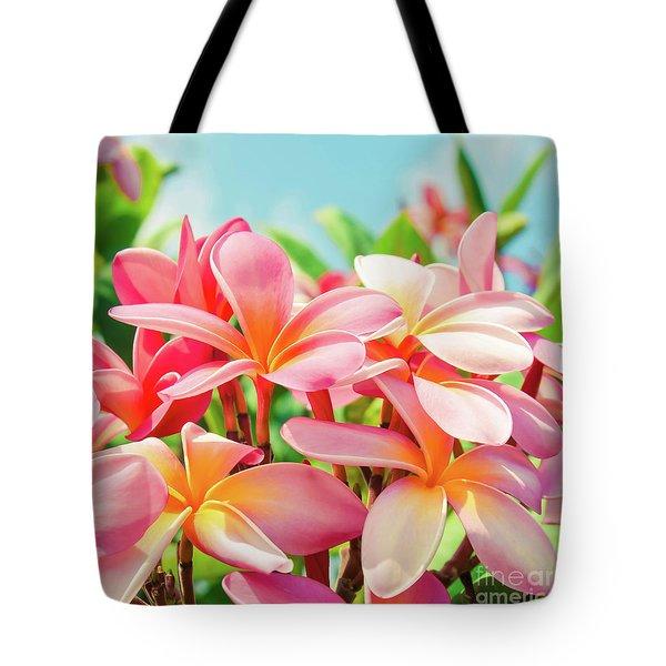 Pua Melia Ke Aloha Maui Tote Bag