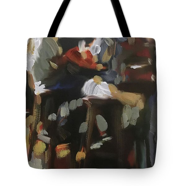 Pub Talk Tote Bag