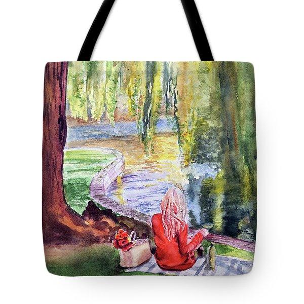 Public Garden Picnic Tote Bag