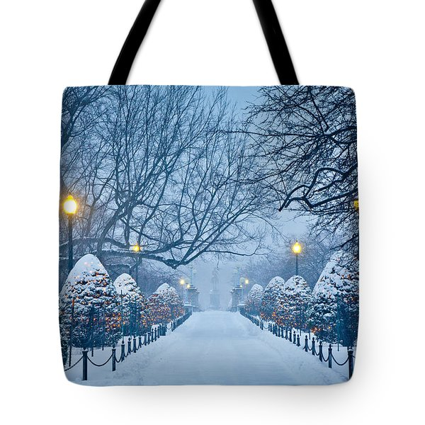 Public Garden Walk Tote Bag by Susan Cole Kelly