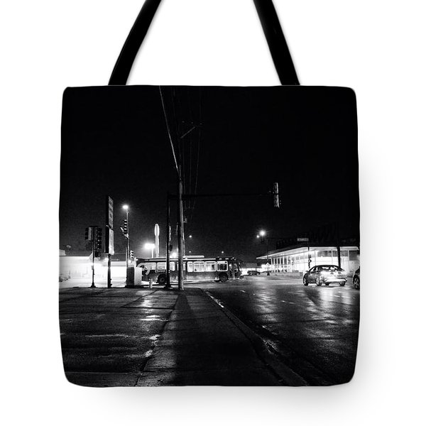 Public Transportation Tote Bag
