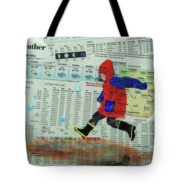 Puddle Jumping Tote Bag