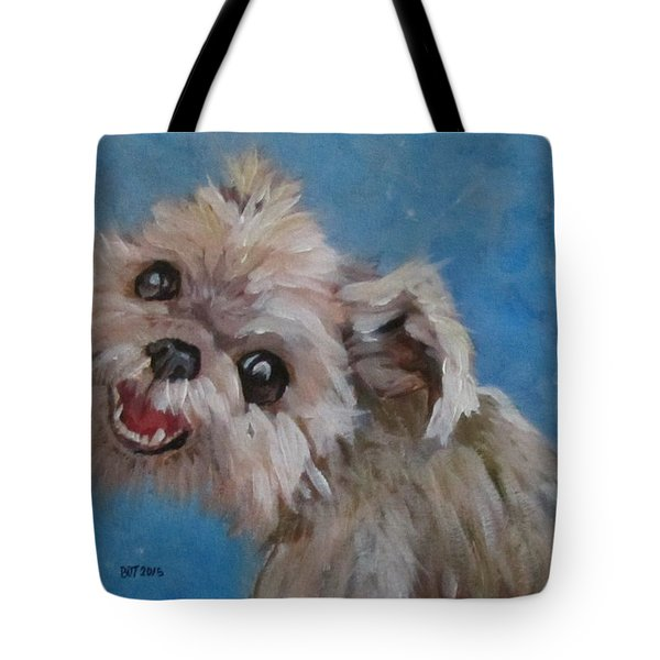 Pudgy Smiles Tote Bag