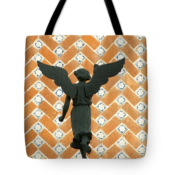 Puebla Angel Mexico Tote Bag