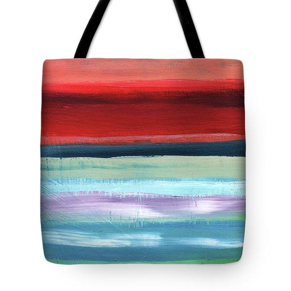 Pueblo- Abstract Art By Linda Woods Tote Bag