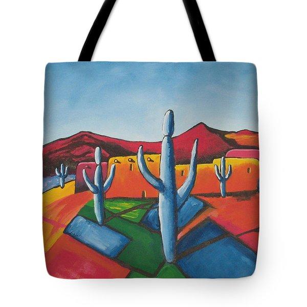 Pueblo Tote Bag