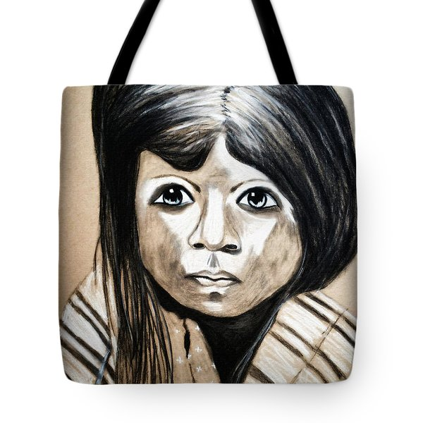 Pueblo Girl Tote Bag