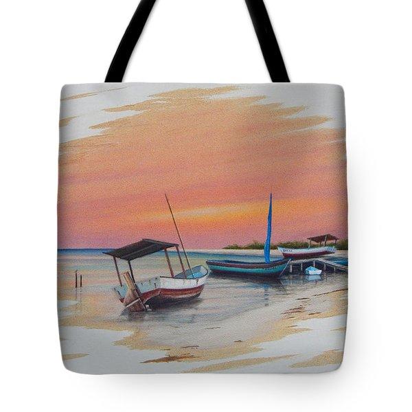 Puerto Progreso V Tote Bag