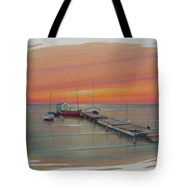 Puerto Progreso Vl  Tote Bag
