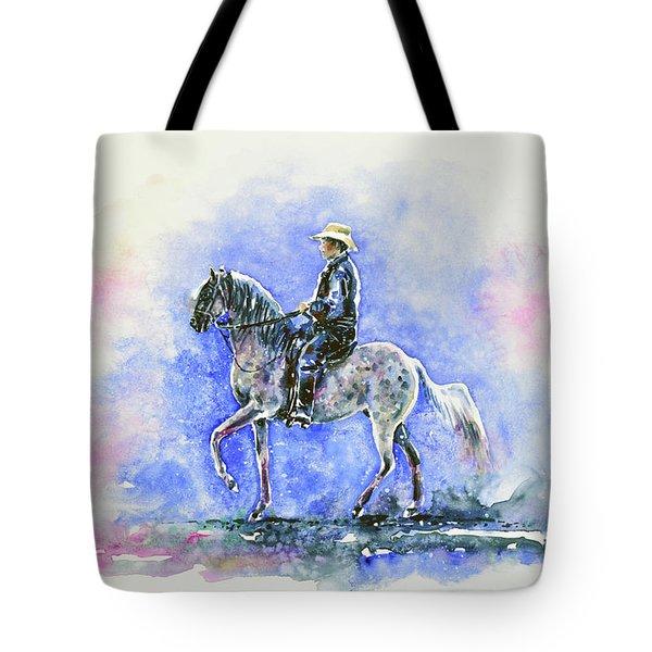 Puerto Rican Paso Fino Rider Tote Bag