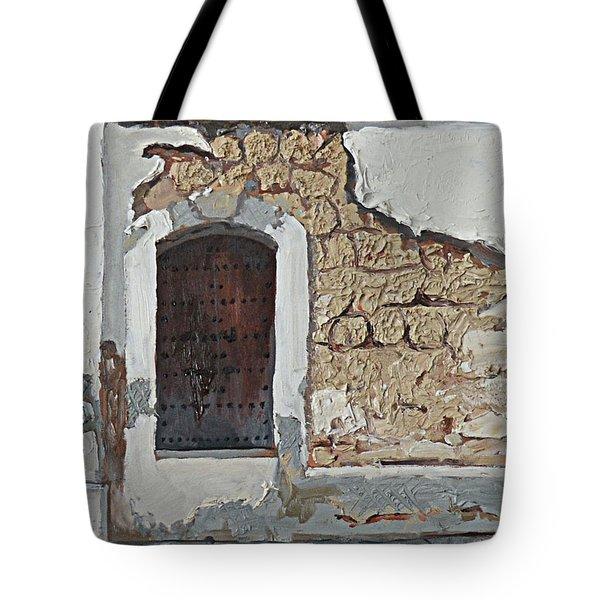 Puerto Rico Door Tote Bag